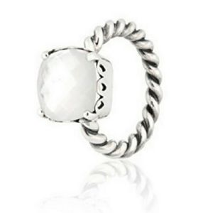 Pandora sincerity mother of pearl ring
